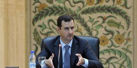 Gunmen storm pro-Assad TV channel